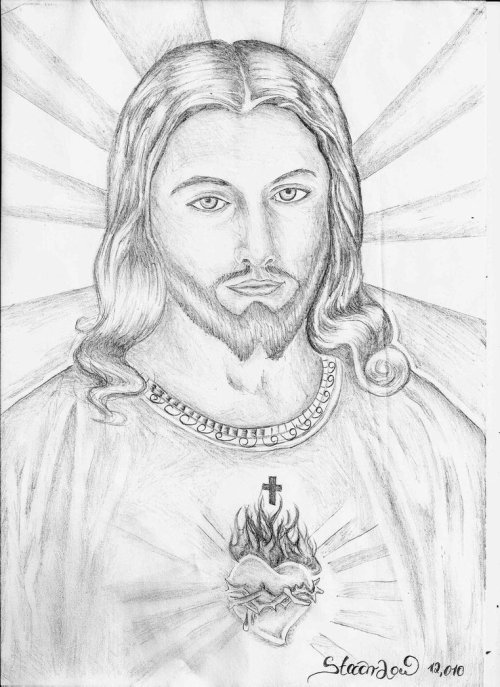 small resolution of new drawing images of jesus drawing tips 4