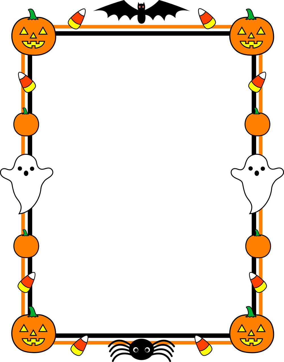 medium resolution of halloween border clip art and photos download free word excel pdf