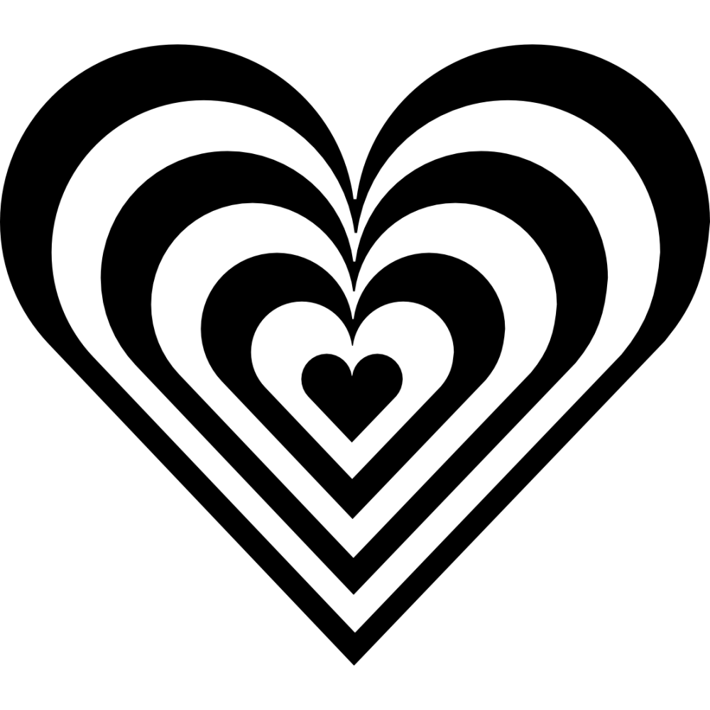 medium resolution of heart border clipart black and white clipart library free