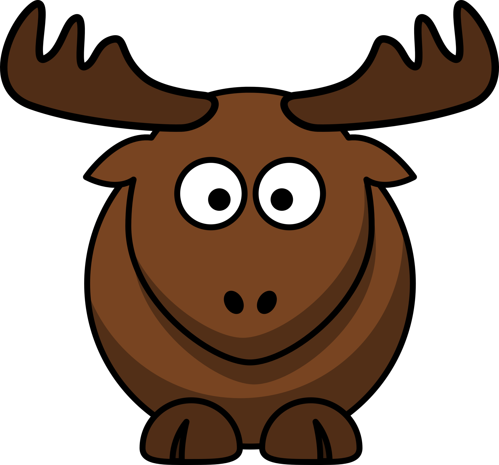 hight resolution of elk clip art cartoon clipart library free clipart images