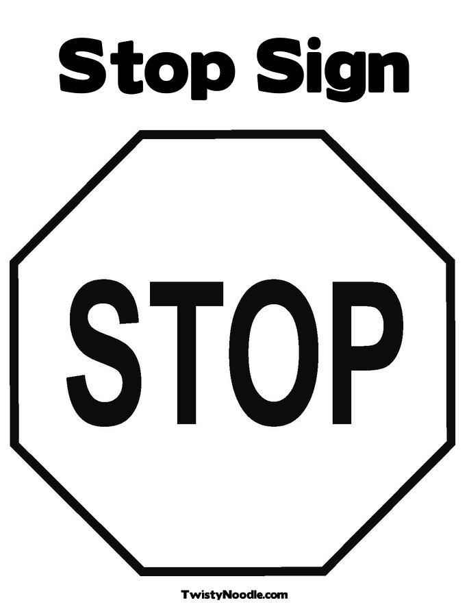 Free Stop Sign Outline, Download Free Clip Art, Free Clip