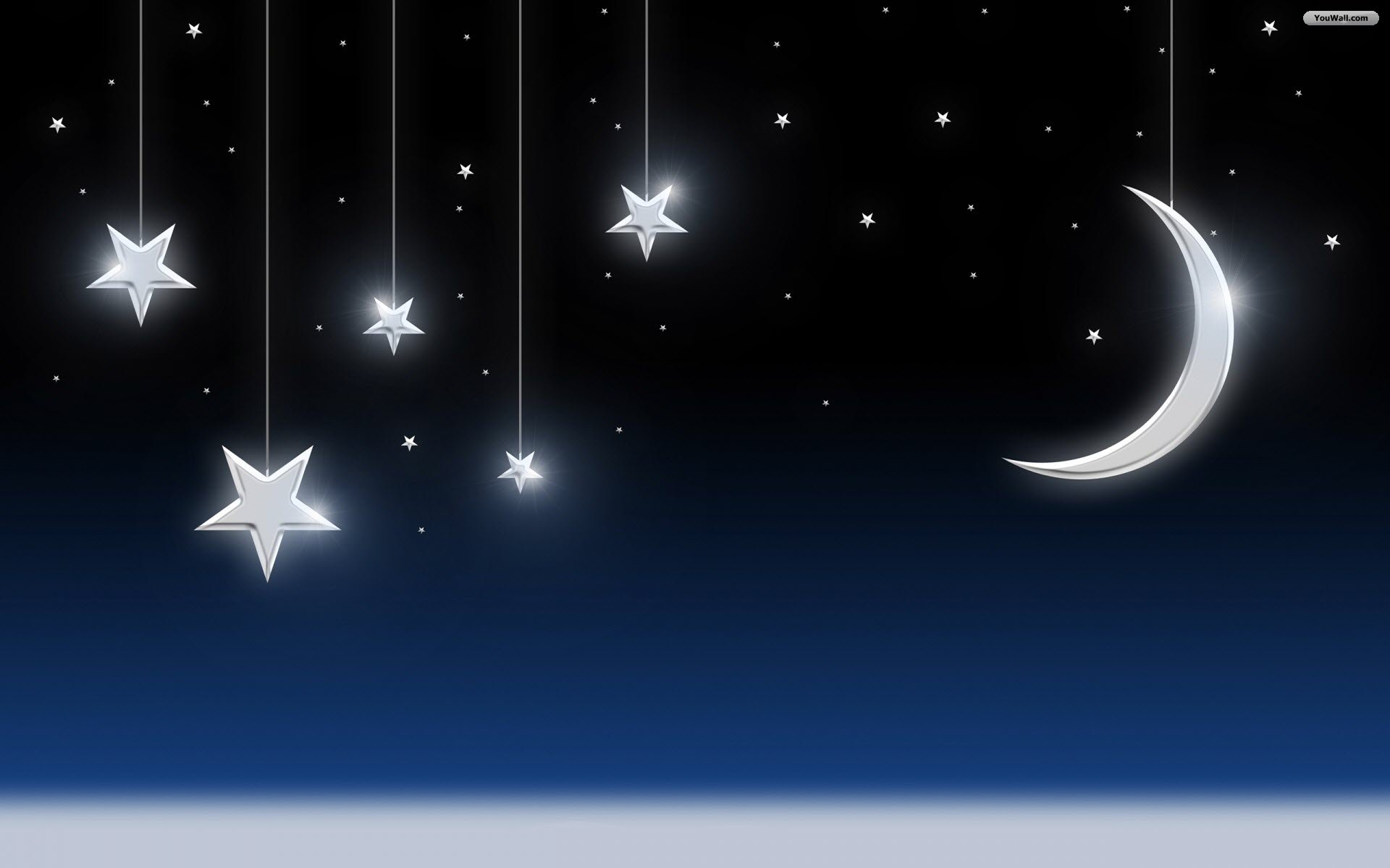 free moon and star