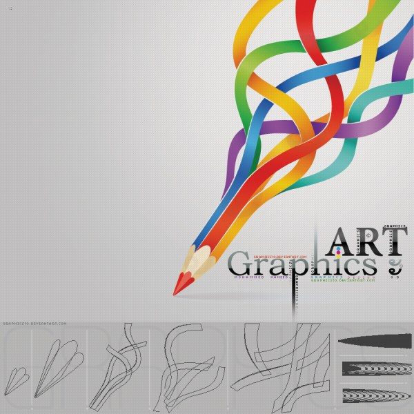 Graphic Art Introduction Turn Brand