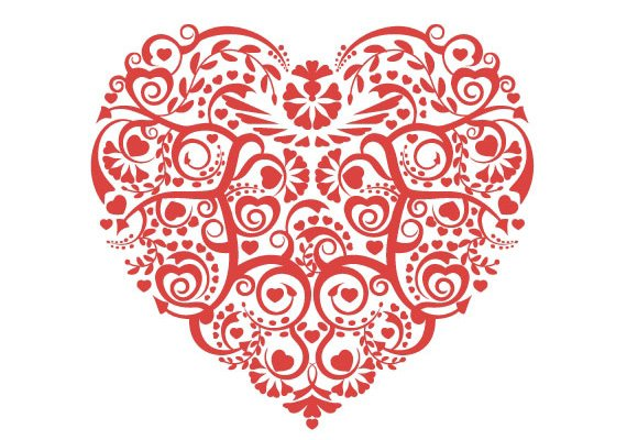 Download Free Love Heart Vector, Download Free Clip Art, Free Clip ...