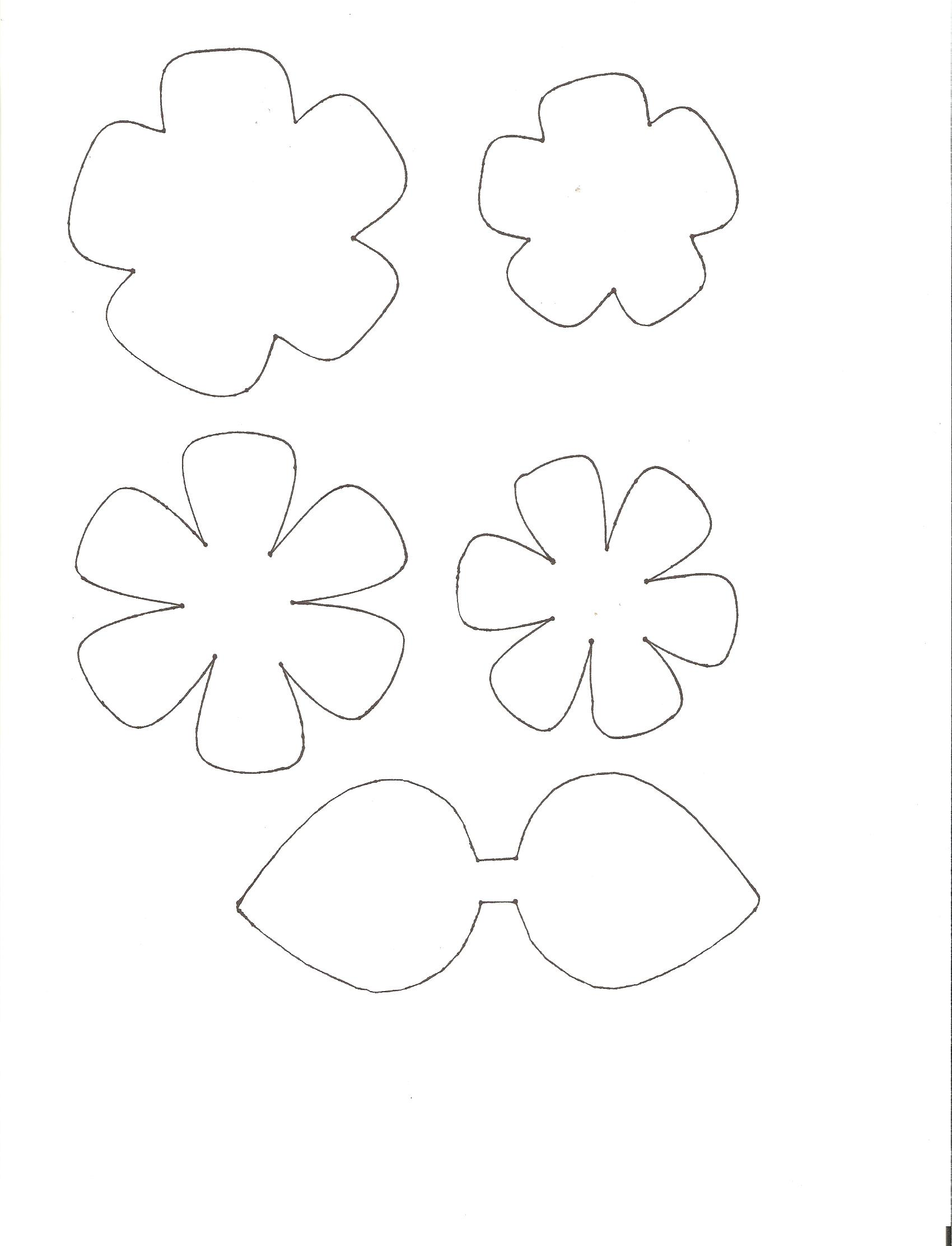 Free Template For Flower, Download Free Clip Art, Free