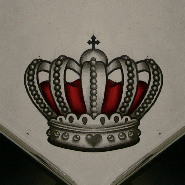 Queen Crown Tattoo Drawing