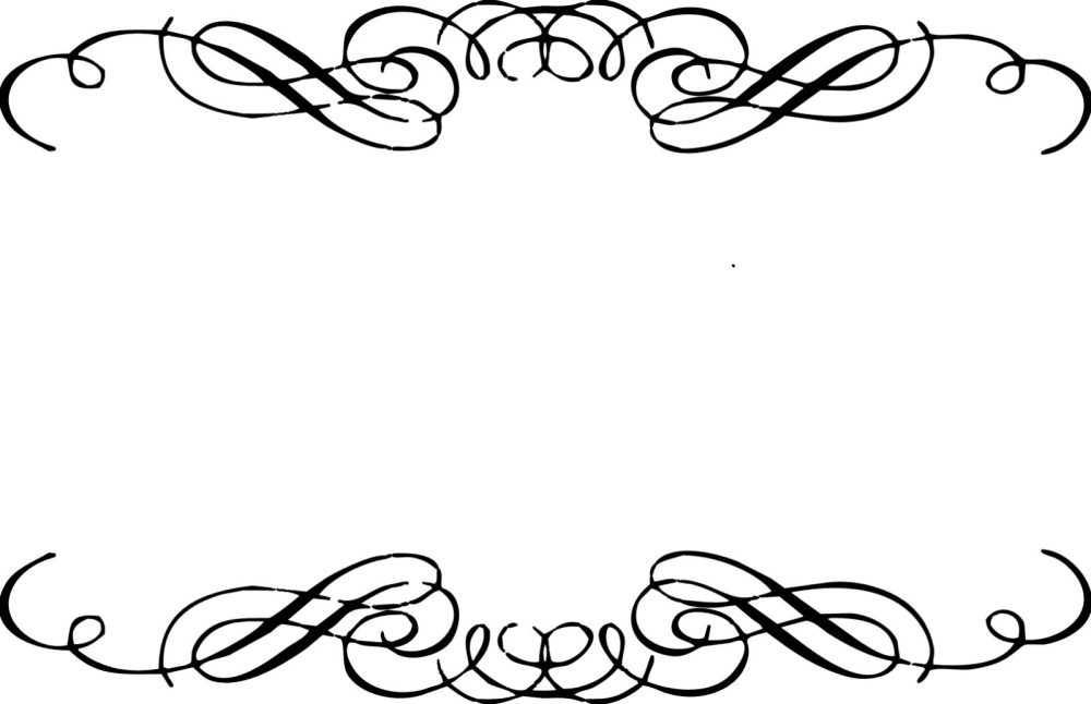 medium resolution of floral scroll frame clip art free download clipart library