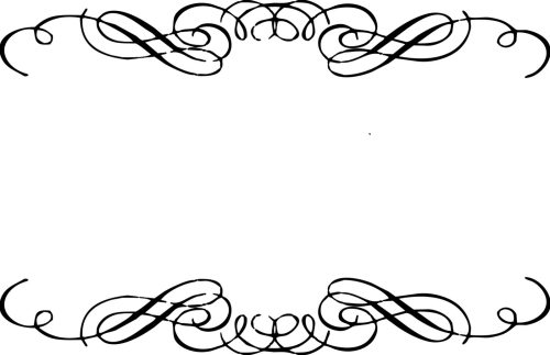 small resolution of floral scroll frame clip art free download clipart library