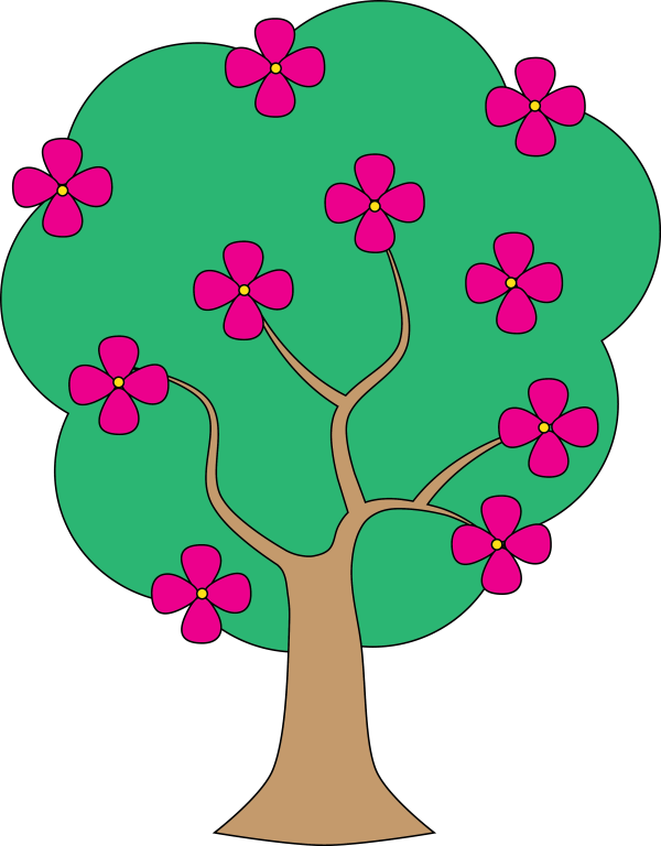 Free Of Tree Clip Art Clipart Library