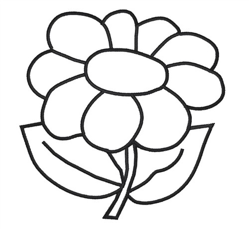 free flower outlines