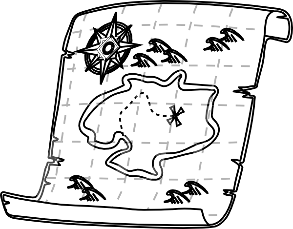 Free Pirate Map Picture, Download Free Clip Art, Free Clip