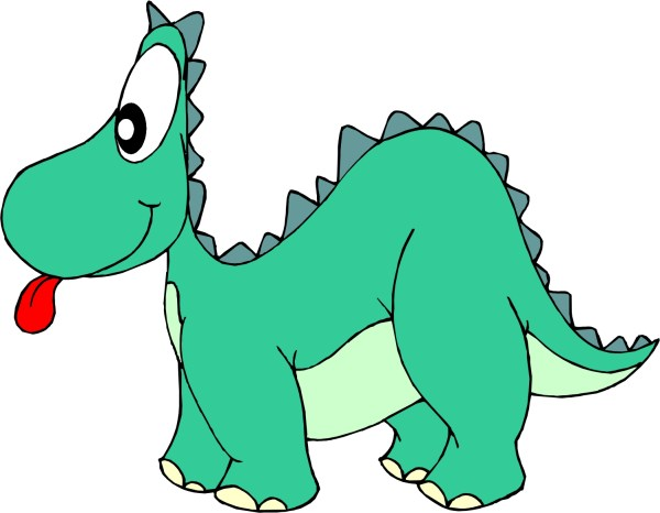 Cartoon Dinosaur Clip Art Free