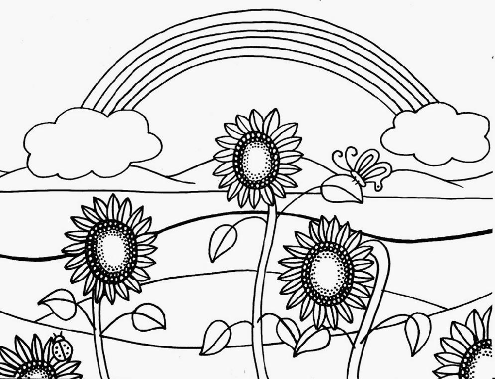 Free Sunflower Color Sheets, Download Free Clip Art, Free