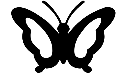 Free Butterfly Silhouette Download Free Clip Art Free Clip Art on Clipart Library