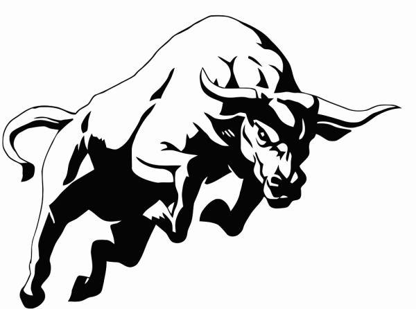 20 Bulls Logo Black And White Clip Art Ideas And Designs