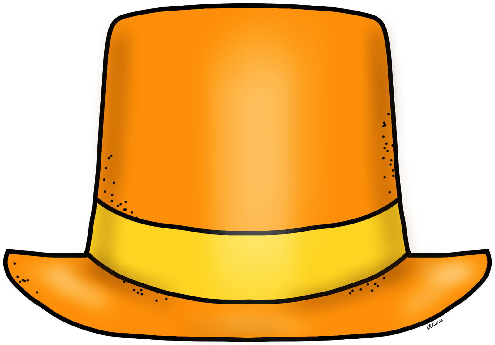 hight resolution of educlips educasong free blank new year top hat clip art