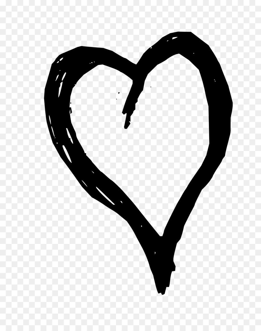 Heart Png Black : heart, black, Black, Heart, Transparent, Background,, Download, Clipart, Library