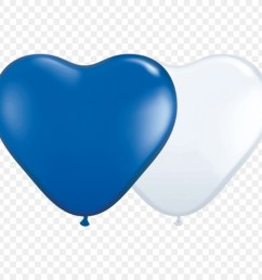 toy balloon red blue color heart others png download 1000 1000 free [ 900 x 900 Pixel ]