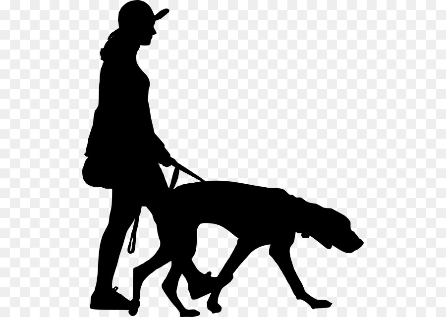 Free Boxer Dog Sitting Silhouette, Download Free Clip Art
