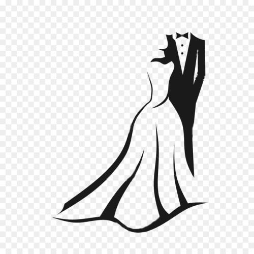 small resolution of wedding invitation bridegroom clip art bride groom png download