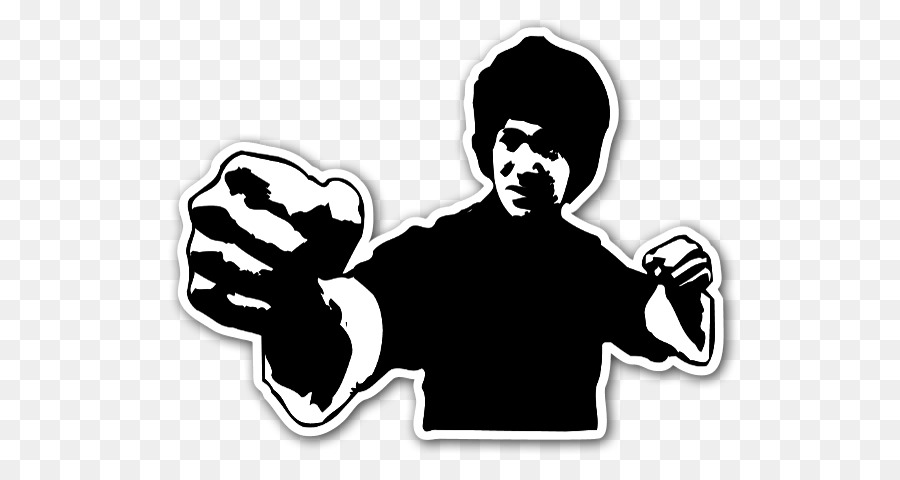 Free Bruce Lee Silhouette Vector, Download Free Clip Art