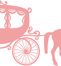 cinderella coach silhouette 1434613 license personal use  [ 1395 x 607 Pixel ]