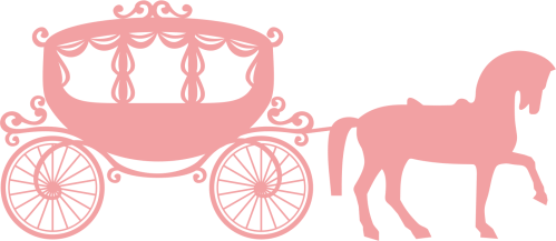 small resolution of cinderella coach silhouette 1434613 license personal use