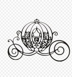 cinderella mickey mouse carriage silhouette black cartoon pumpkin carriage png download [ 900 x 900 Pixel ]