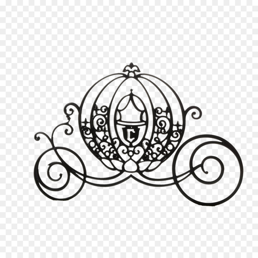 hight resolution of cinderella mickey mouse carriage silhouette black cartoon pumpkin carriage png download