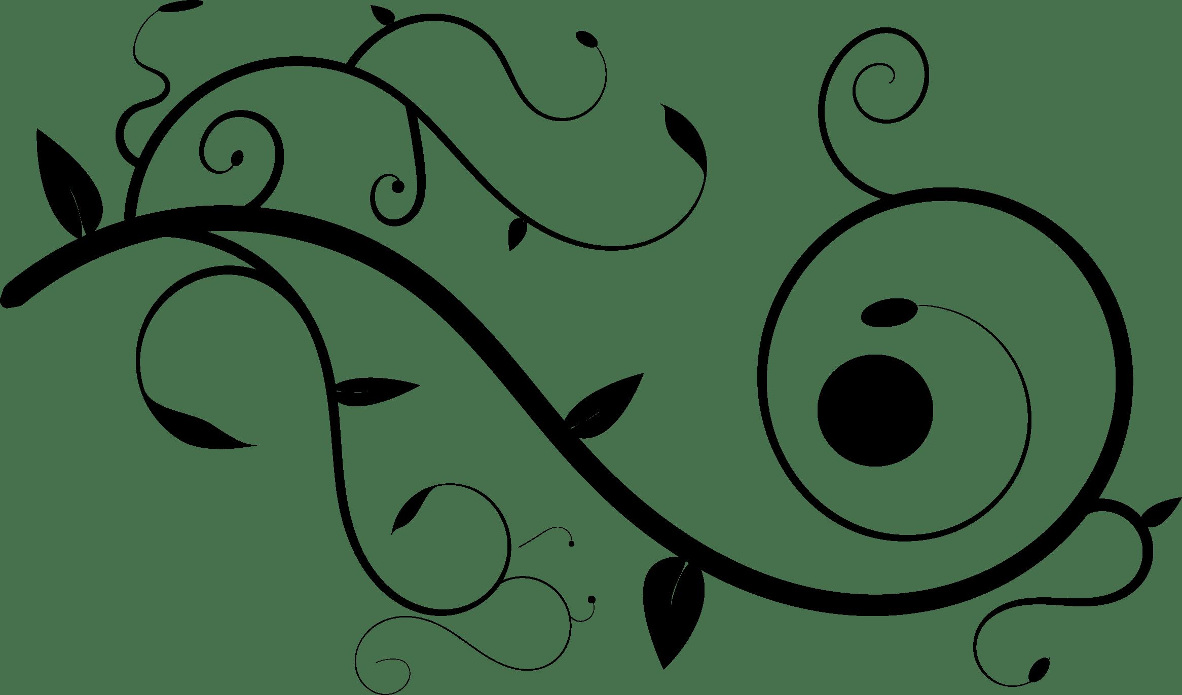 Line Art Ornament Clip Art