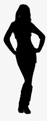 silhouette woman body female transparent outline clipart silhouettes shape clip human hobo library resolution onlygfx getdrawings