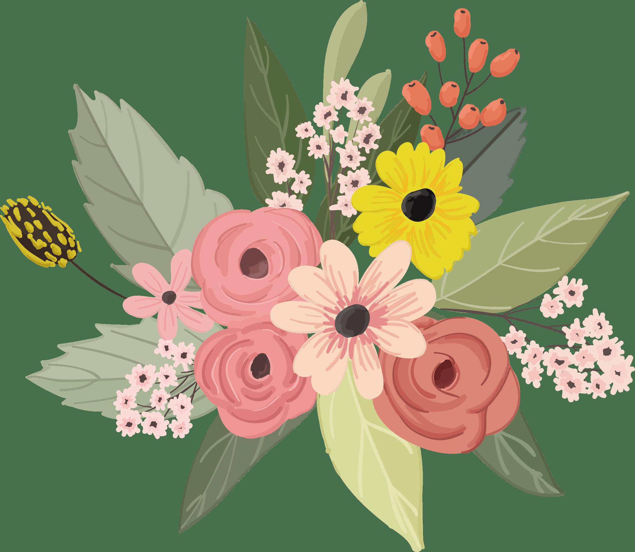 flower floral design watercolor