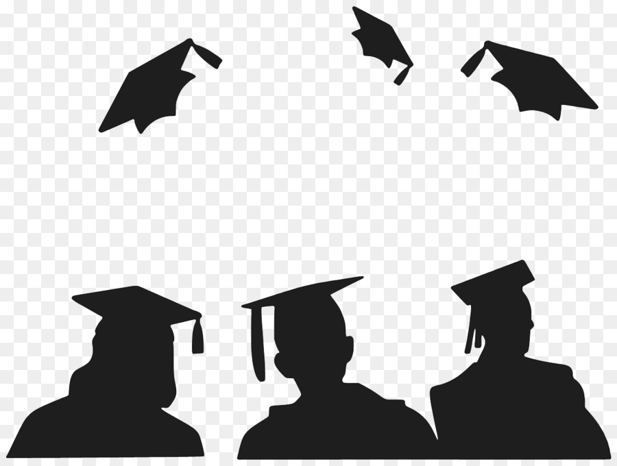 Free Graduation Silhouette Template, Download Free Clip