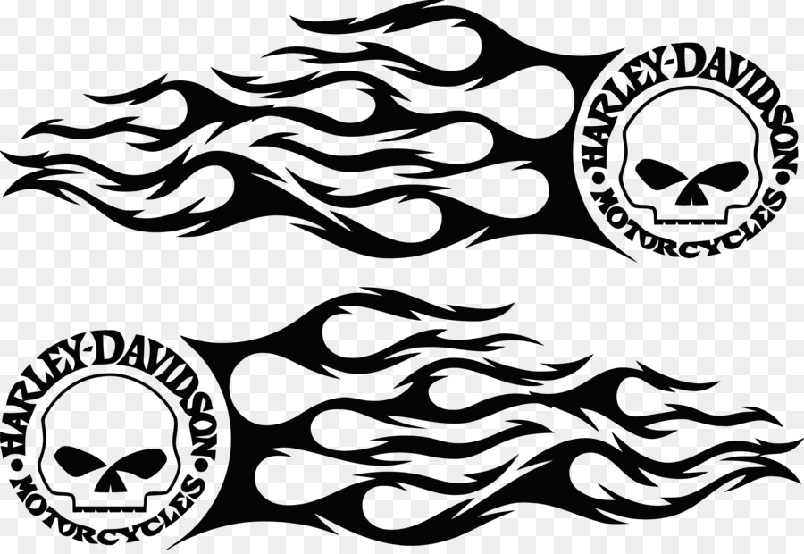 Free Harley Davidson Silhouette Decal, Download Free Clip