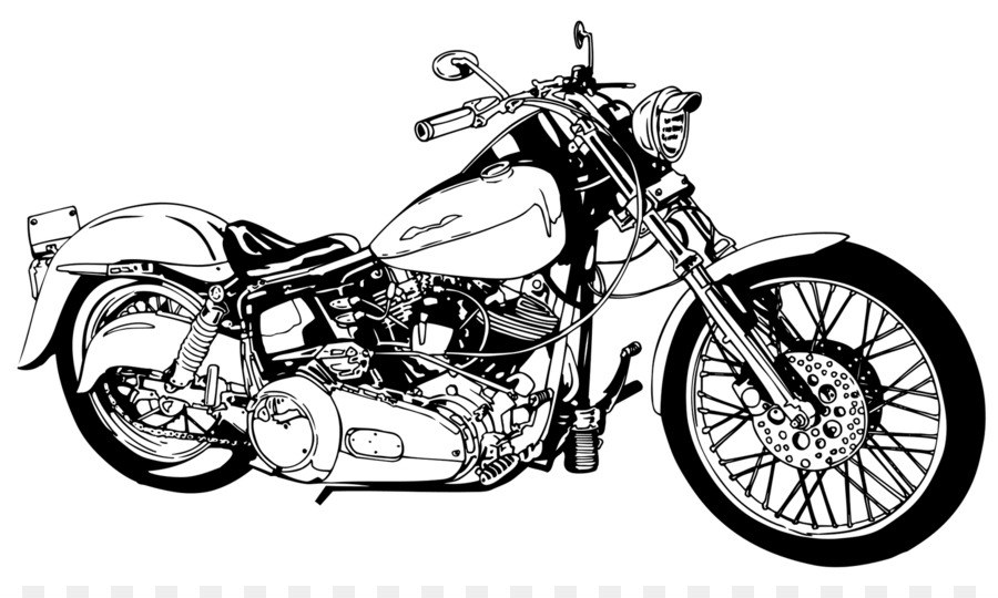 Free Harley Davidson Silhouette, Download Free Clip Art