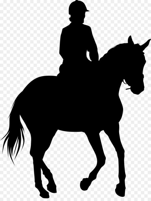 small resolution of equestrian statue silhouette horse horse racing png download
