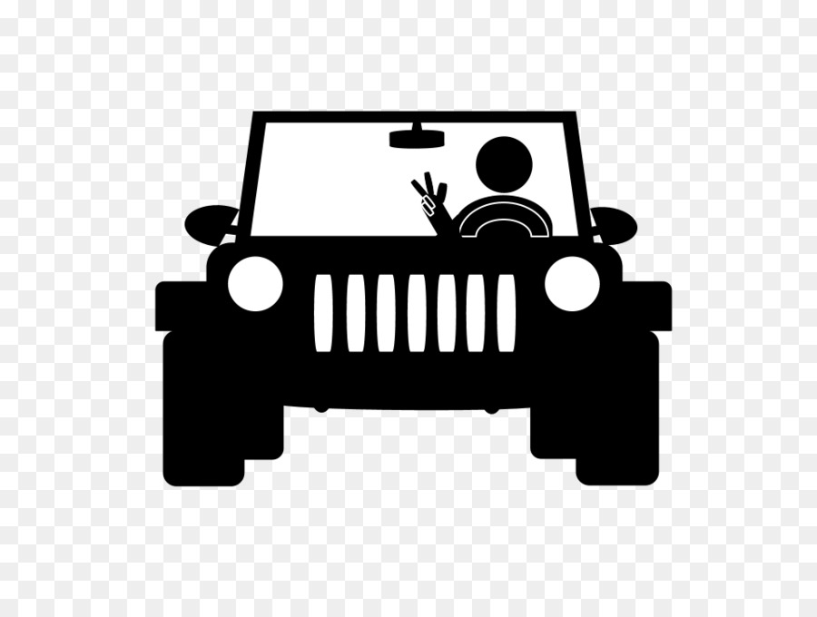Free Jeep Wrangler Silhouette, Download Free Jeep Wrangler