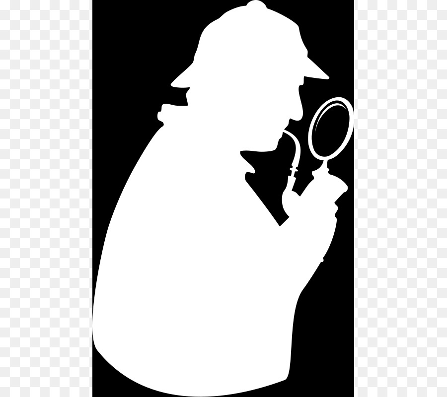 Free Sherlock Holmes Silhouette Free, Download Free Clip