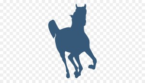 silhouette horse cat clipart cartoon running galloping horses library gallop simple shapes figure clip transparent 2d pony riding canter