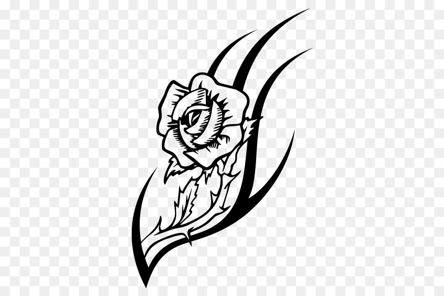 Free Hibiscus Flower Outline, Download Free Clip Art, Free