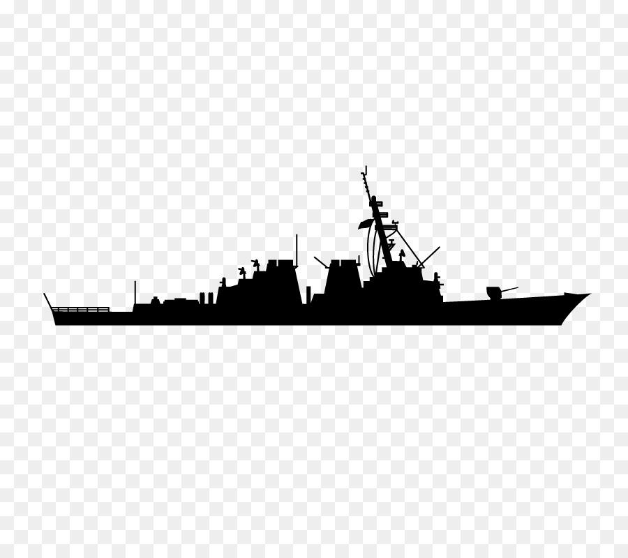 Warship Silhouette