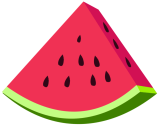 watermelon transparent clipart clip cartoon drawing library
