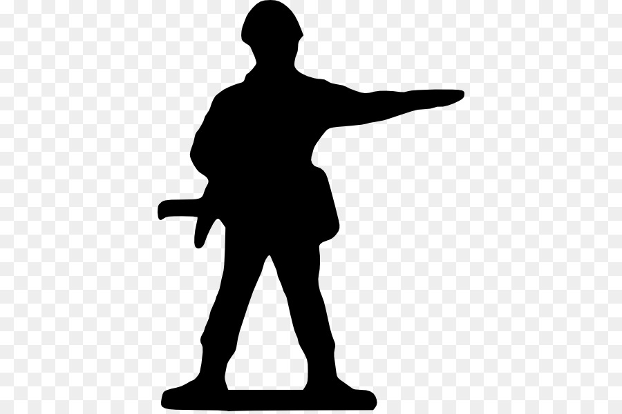 Free Ww1 Soldiers Silhouette, Download Free Clip Art, Free