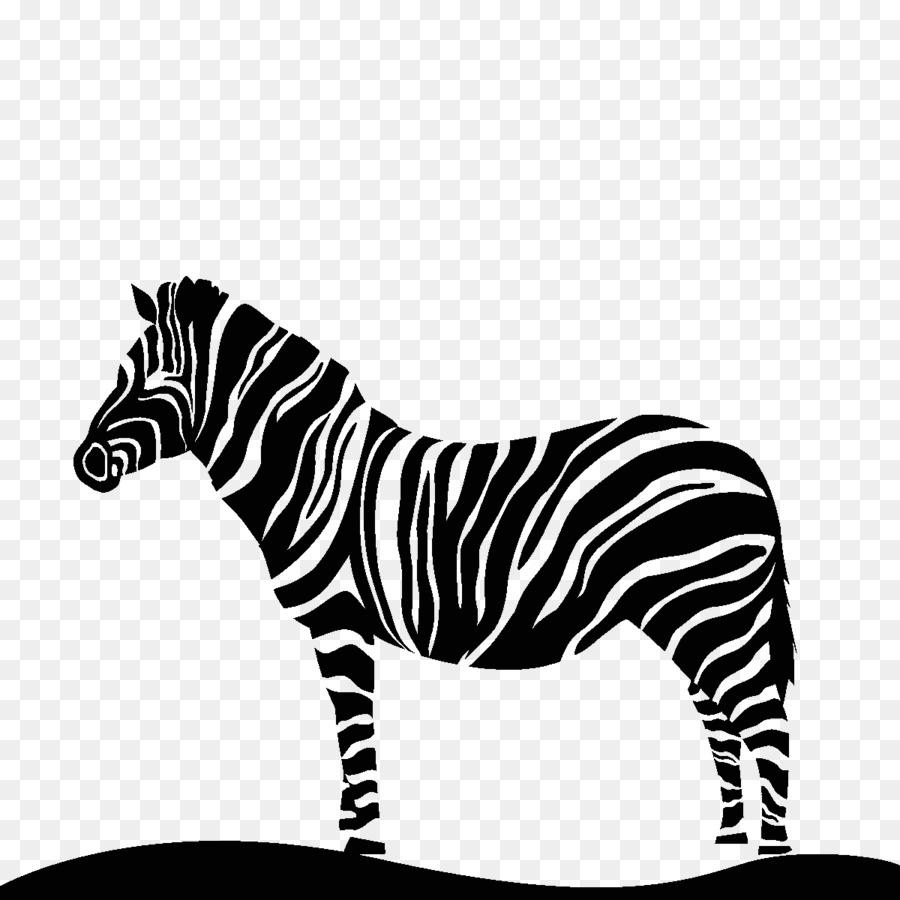 Zebra Silhouette Png