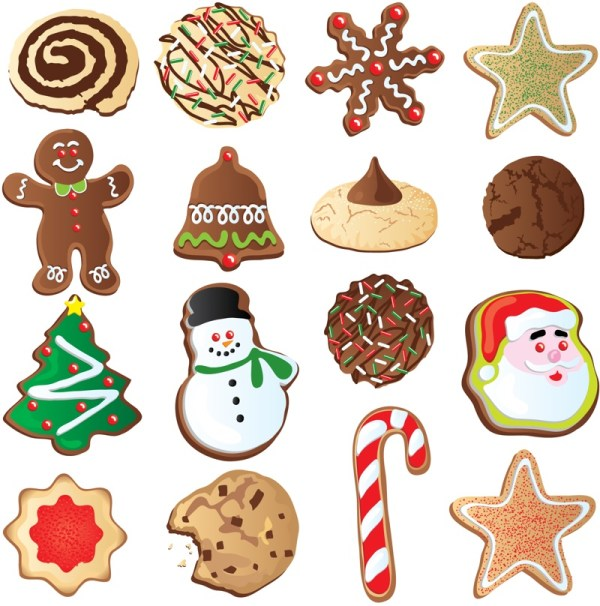 free christmas cookie cliparts