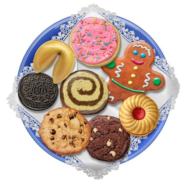 free cliparts cookie platter