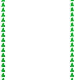 christmas letter border clipart [ 850 x 1100 Pixel ]