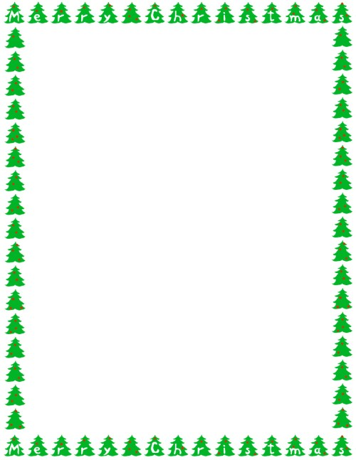 small resolution of christmas letter border clipart