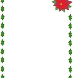 xmas border clipart free free [ 850 x 1100 Pixel ]