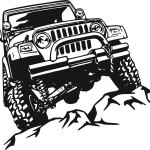 Free Jeep Silhouette Clip Art Download Free Clip Art Free Clip Art On Clipart Library